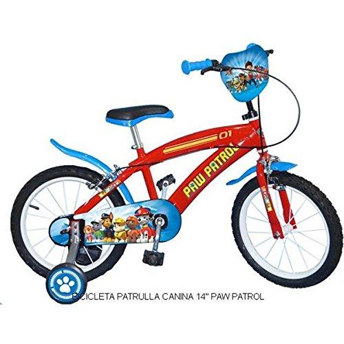 """Bicicleta infantil Patrulla Canina 14"""""""