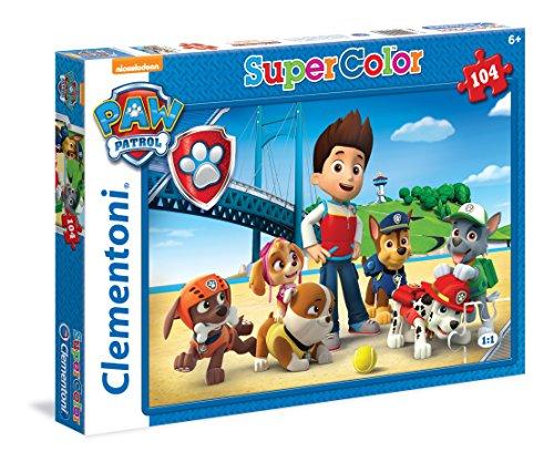Puzzle 104 piezas Patrulla Canina Clementoni