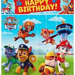 Set de posters de cumpleaños Patrulla Canina