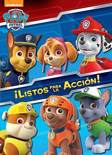 Libro para colorear Patrulla Canina-Listos para la accion