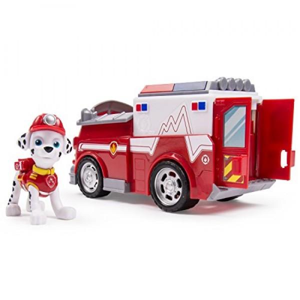 Marshall y su camion de bomberos1