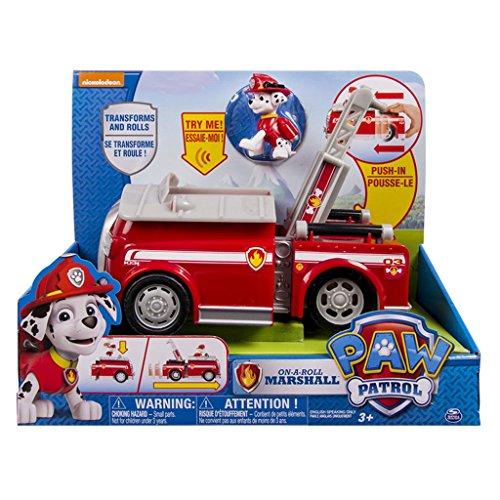 Camion de bomberos con sonidos Patrulla Canina