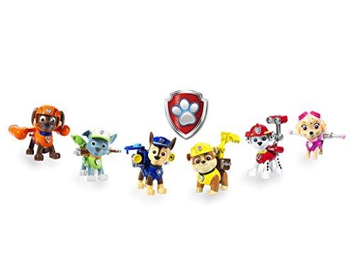 Set de 6 figurines Patrulla Canina1