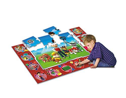 Puzzle alfombra interactivo Patrulla Canina1