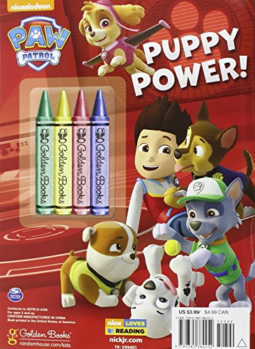 Libro para colorear Patrulla Canina Puppy Power1
