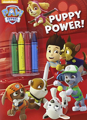 Libro para colorear Patrulla Canina Puppy Power