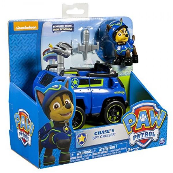 Chase con coche policia Patrulla Canina3