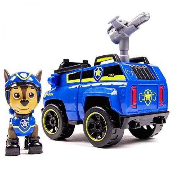 Chase con coche policia Patrulla Canina