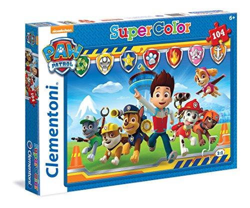 Puzzle Equipo Patrulla canina 104 piezas