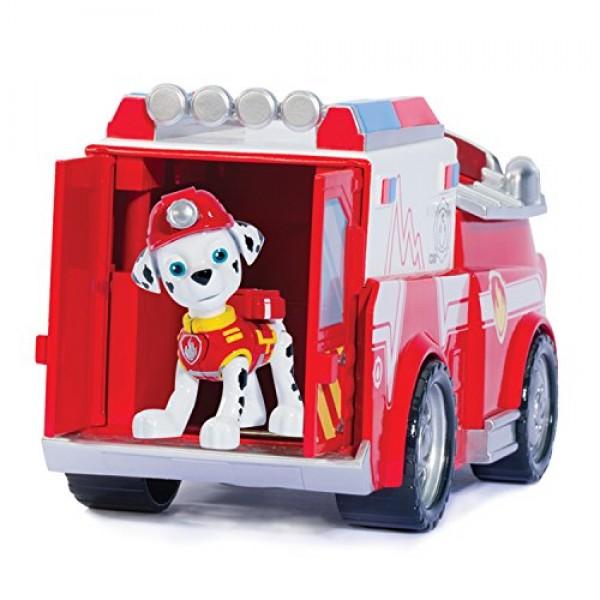 Marshall y su camion de bomberos2