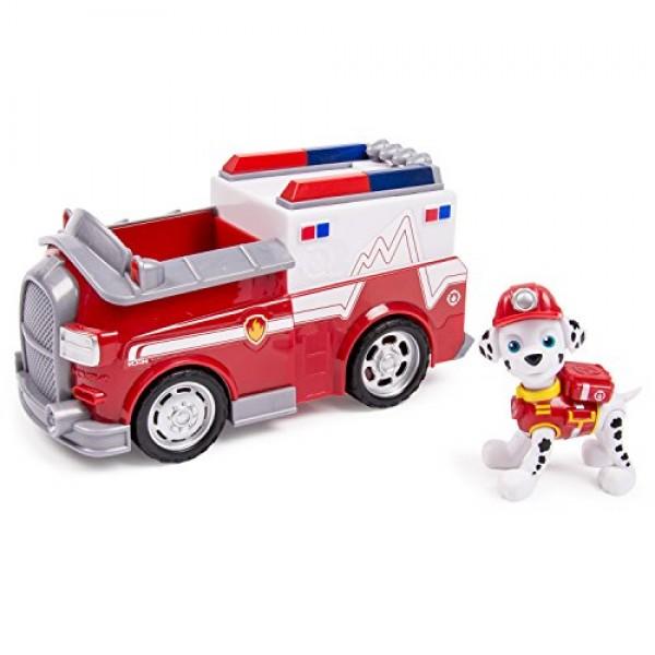 Marshall y su camion de bomberos