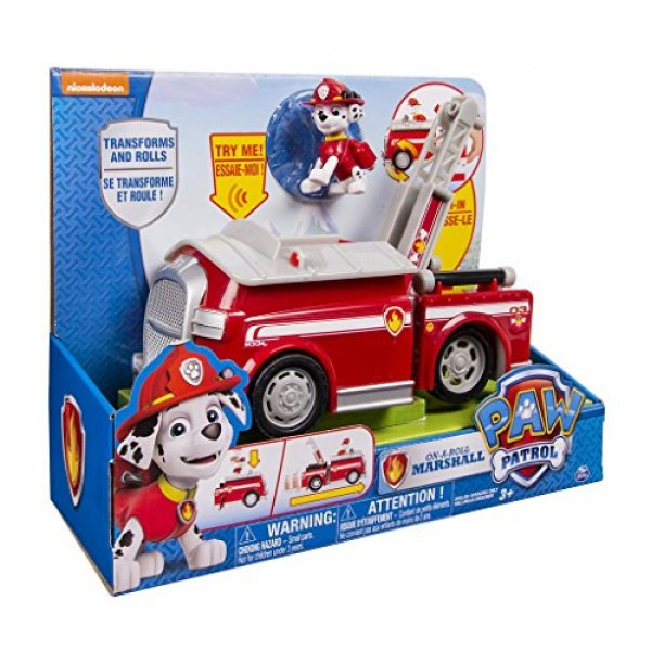 Camion de bomberos con sonidos Patrulla Canina1