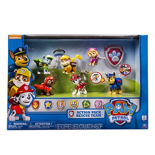 Set de 6 figurines Patrulla Canina