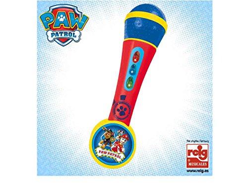 Microfono con amplificador Patrulla Canina