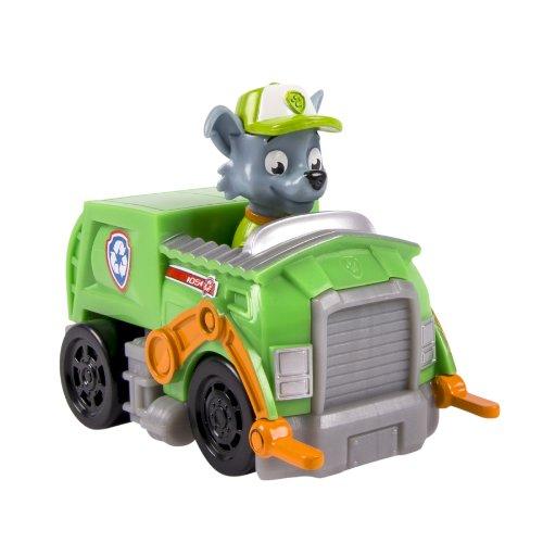 Rocky y su vehiculo Patrulla Canina