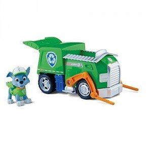 Rocky y su camión de reciclaje Patrulla Canina