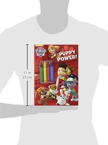 Libro para colorear Patrulla Canina Puppy Power2