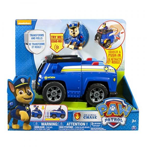 Chase y coche policia sonidos Patrulla Canina