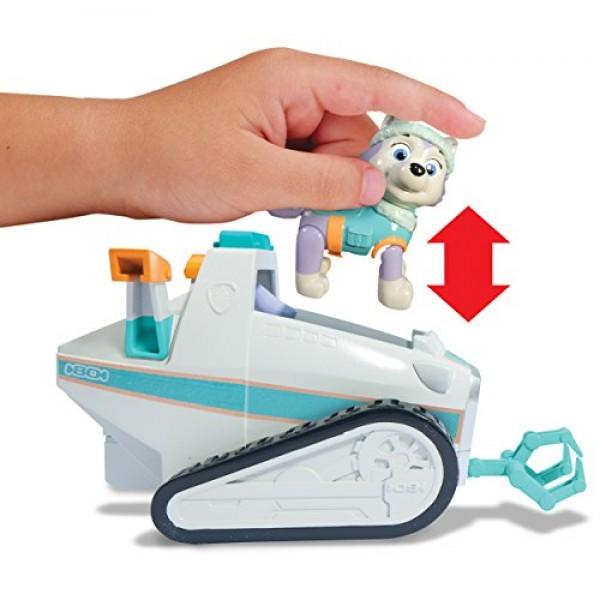 Everest y su coche de nieve Patrulla Canina2