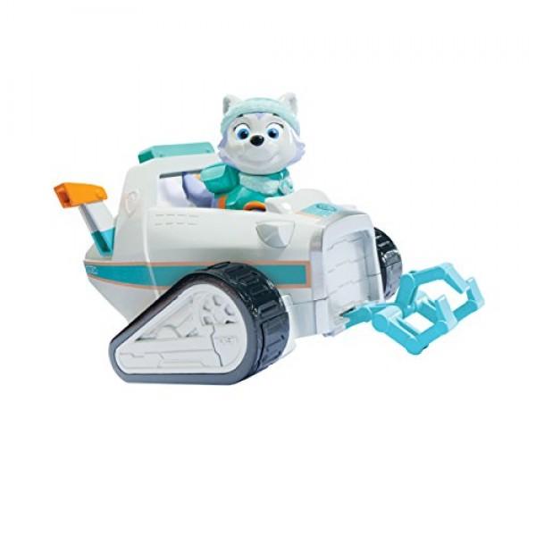 Everest y su coche de nieve Patrulla Canina3